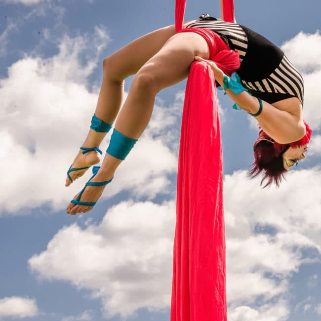 Aerial Silks | Cirque Aerialist | Liz Bliss | Imagine Circus | Raleigh, NC