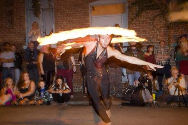 Fire Performer & Flow Artist | Gio | Imagine Circus