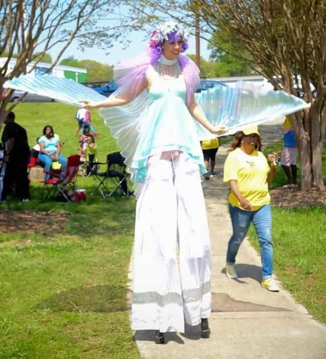 Stilt Fairy at