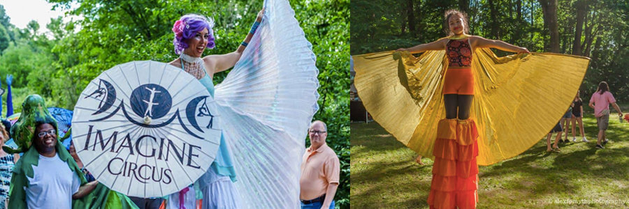 Greensboro Summer Solstice Celebration | Blog Feature Image | Imagine Circus Events