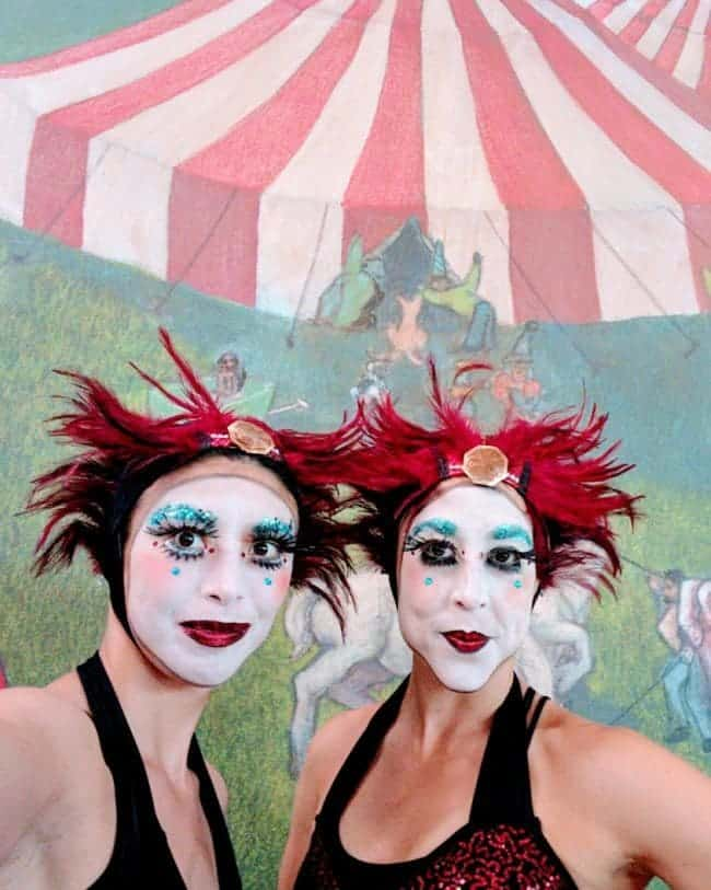 Tour de Fat Asheville Performers | Kaci & Liz Bliss | Imagine Circus