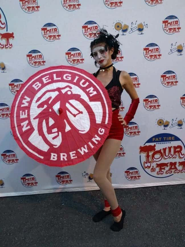 Imagine Circus Performers at Tour de Fat in Charlotte, NC | Kaci