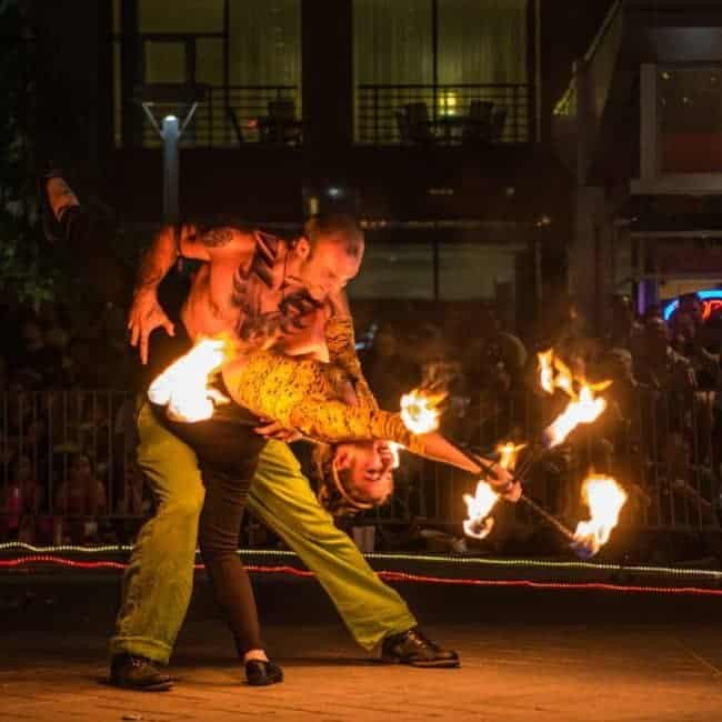 Fire Dance Duo at SPARKcon | Natali & Brady | Imagine Circus