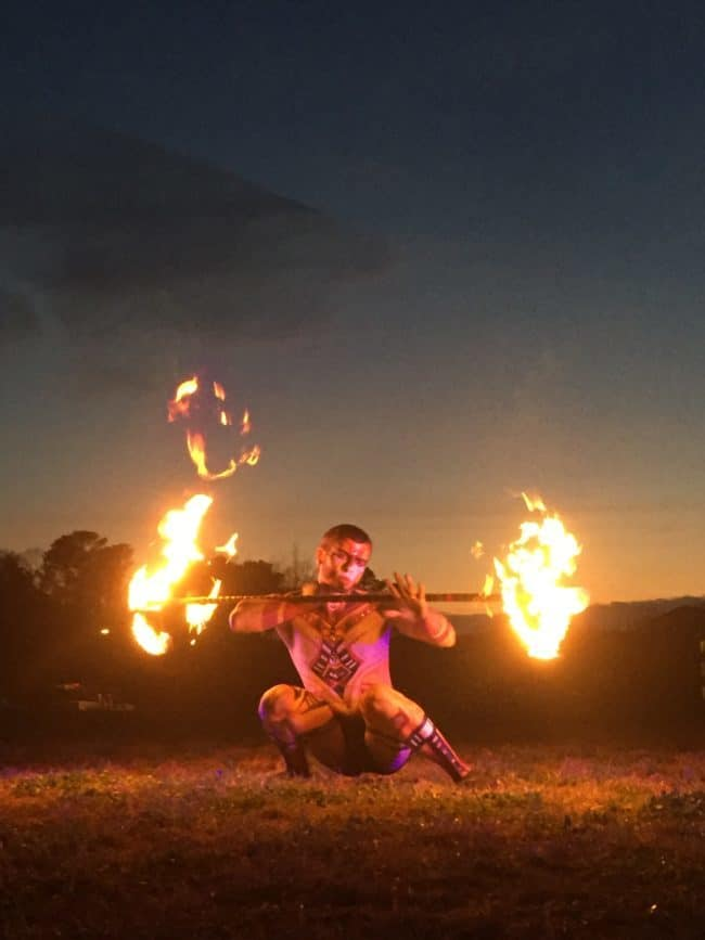Fire Dragon Staff Performer & Flow Artist | Gio | Imagine Circus