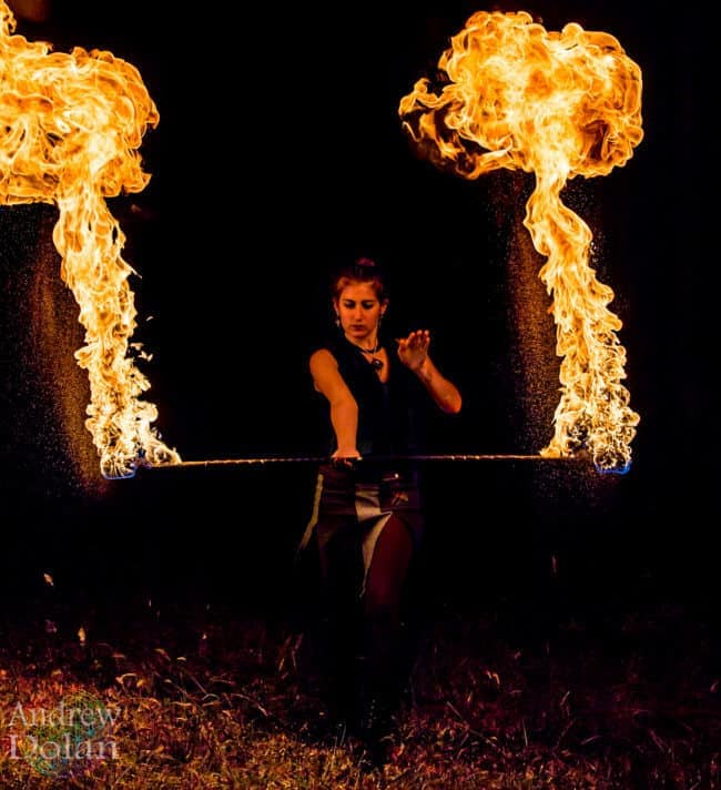 Fire Performer | Natali | Imagine Circus