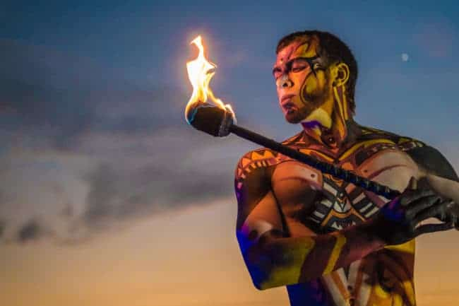Fire Staff Performer & Flow Artist | Gio | Imagine Circus