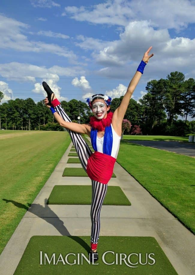 Acrobat, Fourth of July, Cirque Performers, Kaci, Imagine Circus