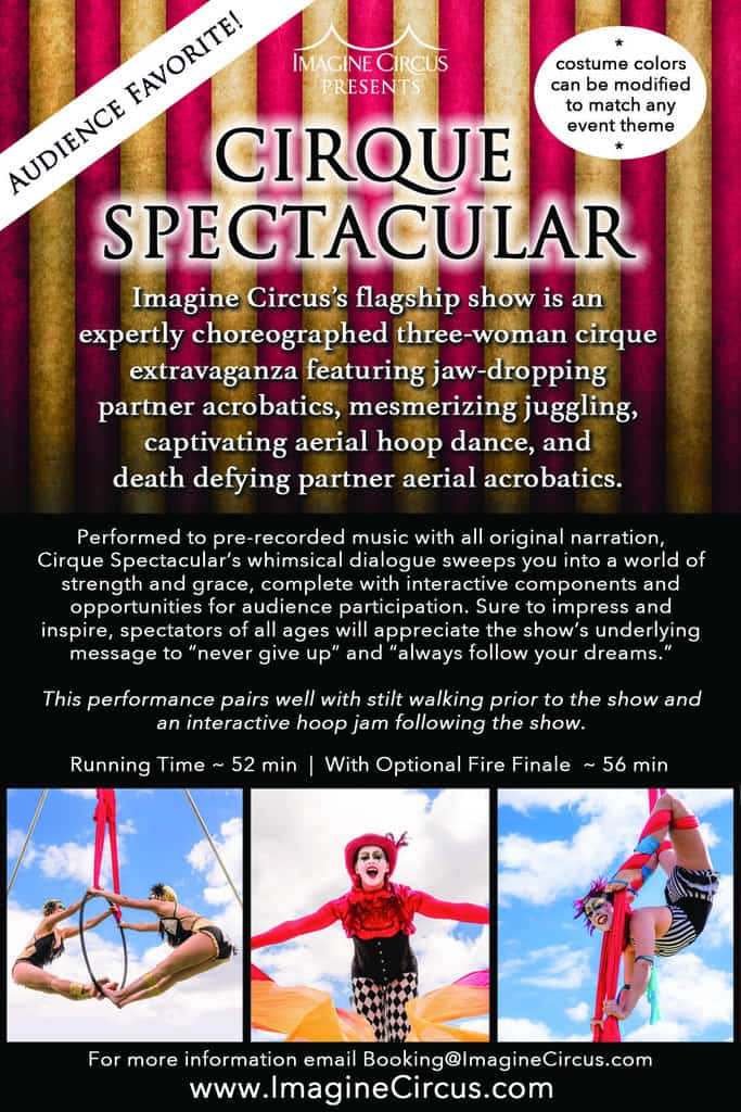 Cirque Spectacular Info Sheet | Imagine Circus | Show