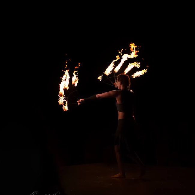 Greensboro Summer Solstice Fire Show | Imagine Circus Performers