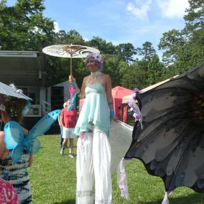 Liz Bliss Stilt Fairy | Imagine Circus