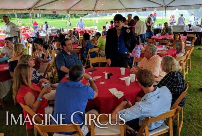 Magician, Close up magic, Roman, Imagine Circus