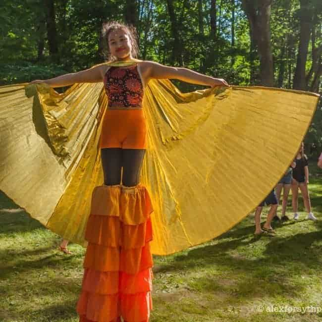 Mari Fairy Stilt Walker | Imagine Circus