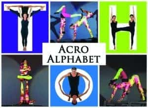 Central Library Presents Acro Alphabet Show: Winston-Salem, NC @ Central Library