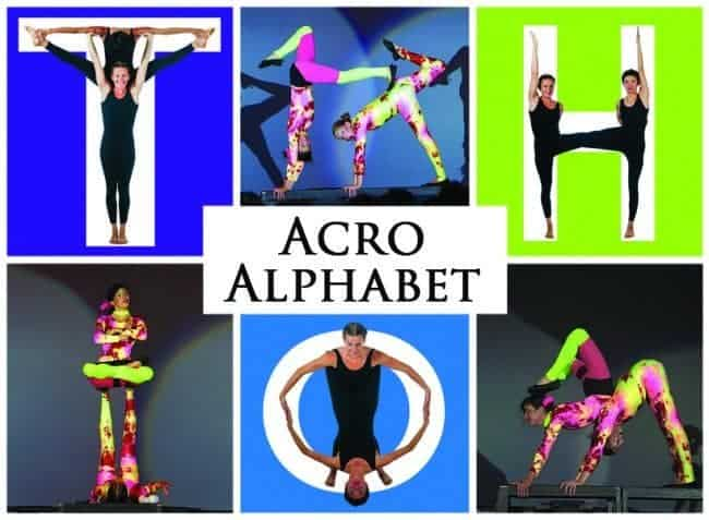 Acro Alphabet | Imagine Circus | Shows | Feature Image