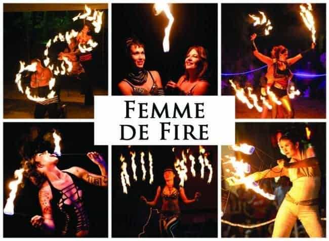 Femme de Fire | Imagine Circus | Shows | Feature Image