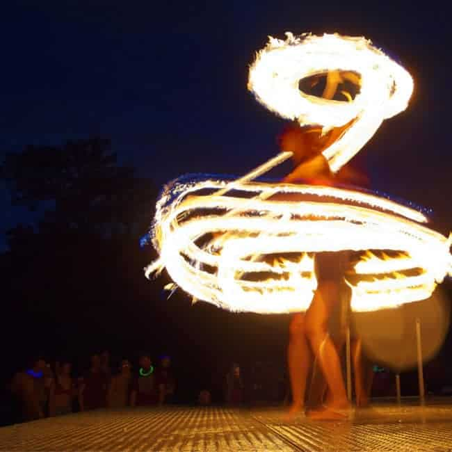 Greensboro Summer Solstice Fire Show   Photo by John Feimster   Imagine Circus Performers