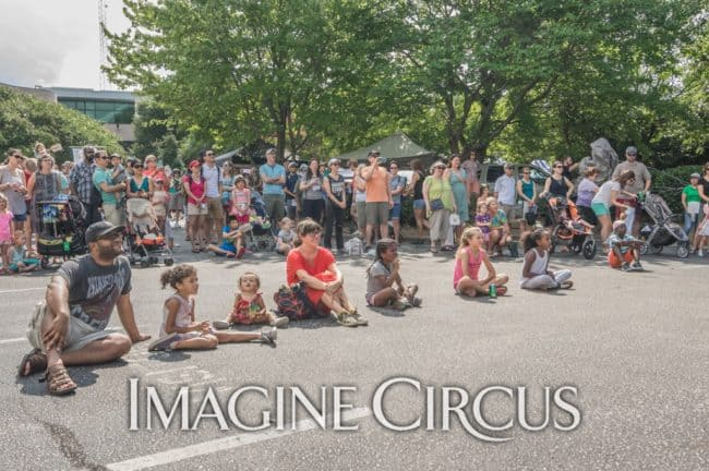 Audience, Imagine Circus, Photo by Brooke Meyer