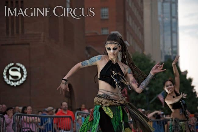 Elements Show, Earth, Tik-tok, Belly Dance, Imagine Circus, SPARKcon, Photo by Light on a Hill Photography