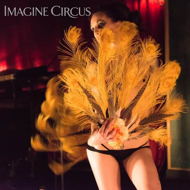 Tik-tok, Sexy Burlesque, C Grace, Imagine Circus, Photo by Slater Mapp