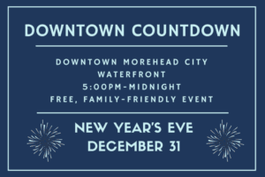 New Year's Eve Downtown Countdown: Morehead City, NC @ Waterfront