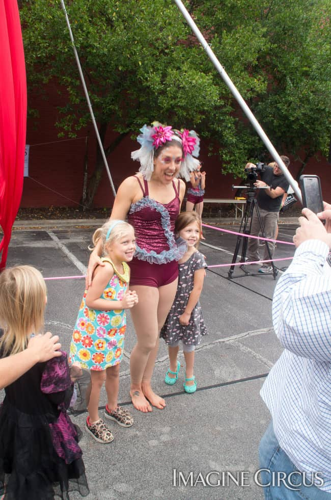Liz Bliss, Mum Fest, Imagine Circus, Photographer Charles Lytton