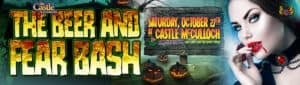 The Castle Presents Beer & Fear Bash: Jamestown, NC @ Castle McCulloch