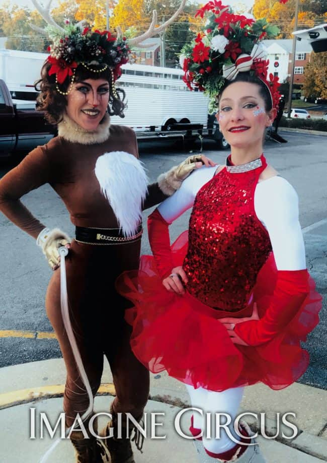 Costumed Performers, Winter Holiday, Cameron Village, Performer, Adrenaline, Brittany, Imagine Circus