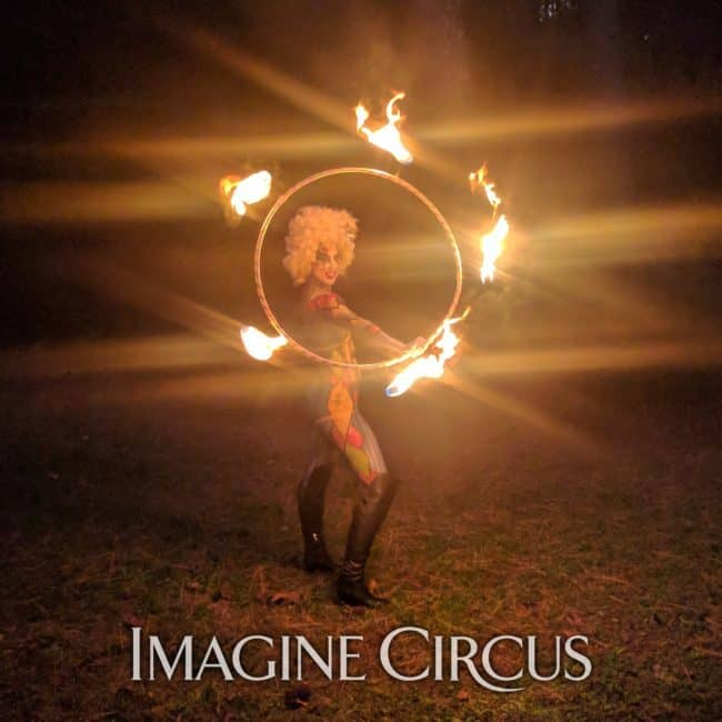 Fire Dancer, Fire Hoop, Body Paint Model, Liz, Imagine Circus, Photo Shoot