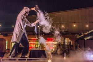 Reading Can Take You Anywhere-- Living in a Vacuum and How Things Stay Cold: The Liquid Nitrogen Science Show: Fayetteville, NC @ Throckmorton Library