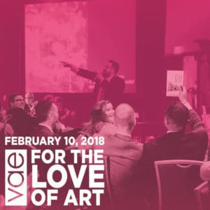34th Annual For The Love Of Art Gala + Fundraiser: Raleigh, NC @ Raleigh Marriott City Center
