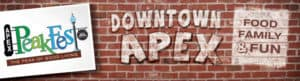 ApexPeak Fest: Apex, NC @ Historic Downtown Apex