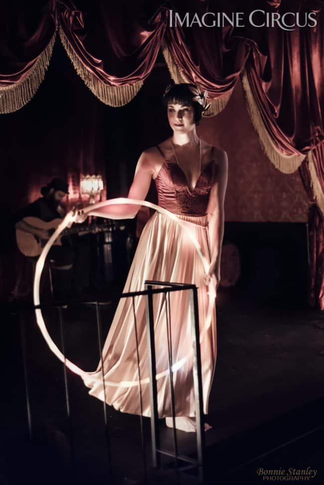 Mindy, LED Hoop Dancer, C Grace, Imagine Circus, Photo by Bonnie Stanley Photography