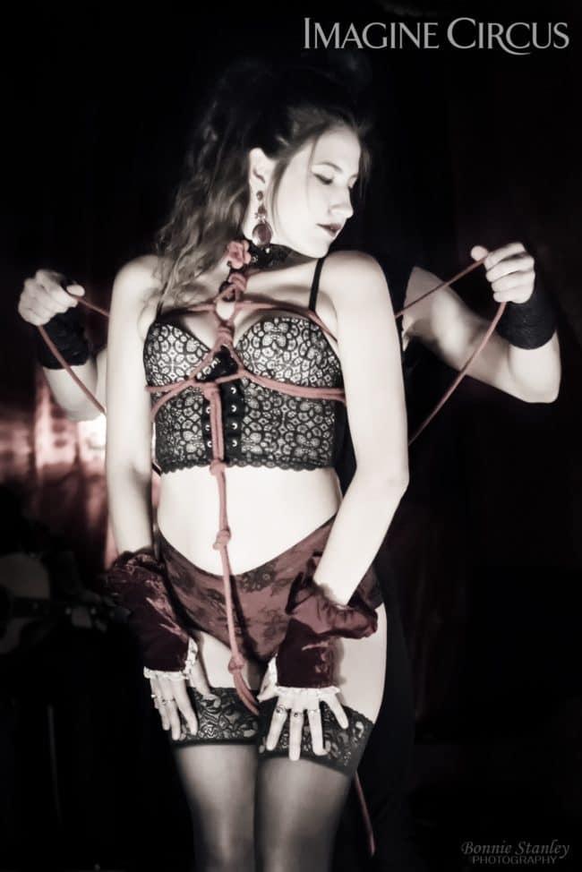 Natali & Gio, Sexy Shabari, Live Bondage, C Grace, Imagine Circus, Photo by Bonnie Stanley Photography