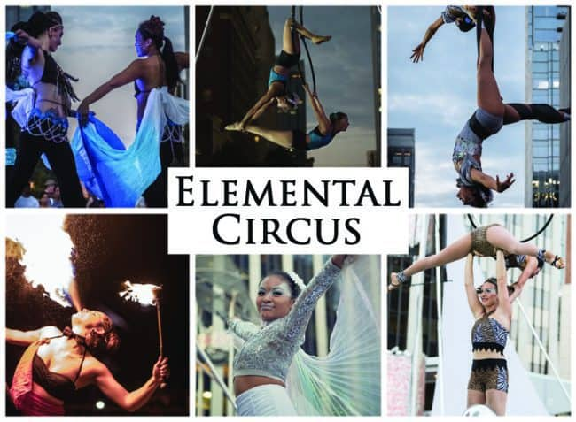 Elemental Circus Show, Imagine Circus