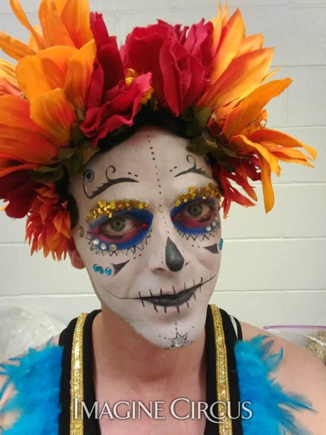Day of the Dead | Performer | Adam | Imagine Circus
