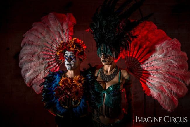 Imagine Circus | Day of the Dead | Adam & Tik Tok | Photo by Finding Future