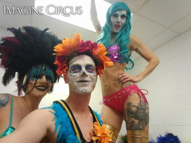 Day of the Dead | Sexy Carnivale | Performers | Lacy Blaze, Adam & Tik Tok | Imagine Circus