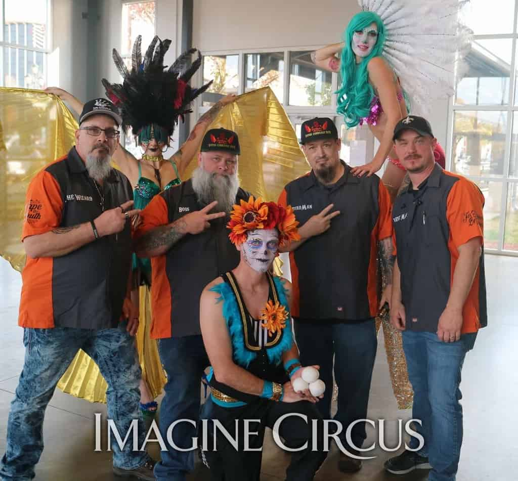 Day of the Dead | Vapers Carnivale | Performers | Lacy Blaze, Adam & Tik Tok | Imagine Circus