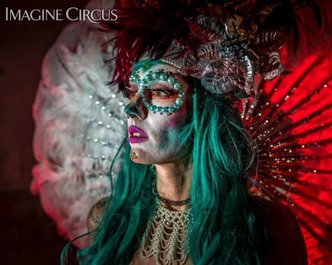 Sexy Carnivale | Day of the Dead | Lacy Blaze | Imagine Circus | Photo by Finding Future