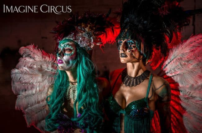 Sexy Carnivale | Day of the Dead | Lacy Blaze & Tik Tok | Imagine Circus | Photo by Finding Future