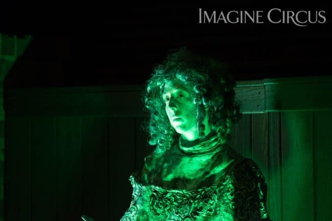 Living Statue, Living Fountain, Performer, Liz, Classy Art, Imagine Circus, Desilu Photography