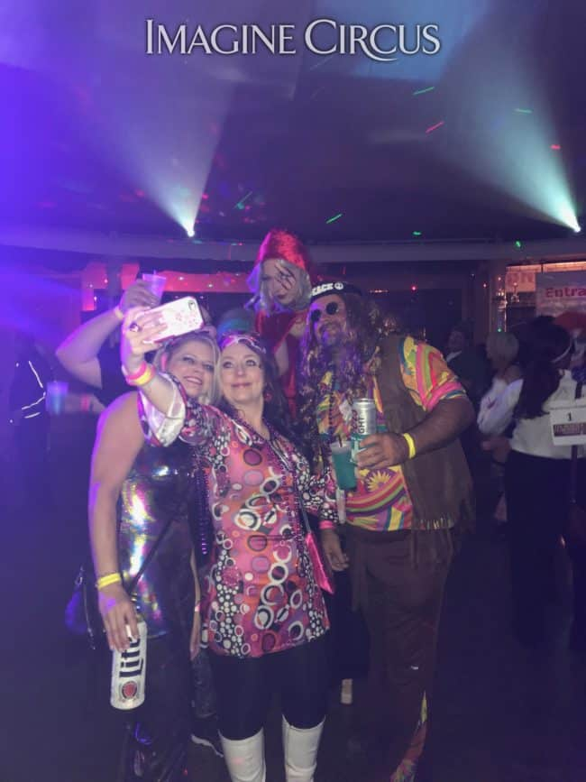 Stilt Walker, Halloween, Beer and Fear Bash, Castle McCulloch, Performer, Steph Imagine Circus