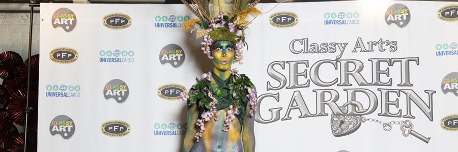 Secret Garden, Stilt Walker, Classy Art, High Point, NC, Imagine Circus