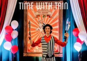 Patrick Beaver Memorial Library Presents Time With Tain: Hickory, NC @ Patrick Beaver Memorial Library