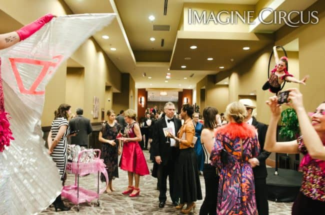 Aerial Hoop, Aerialist, Winged Dancer, Stilt Walker, VAE Gala, Imagine Circus, Performers, Katie, Rachel Berbec Photography