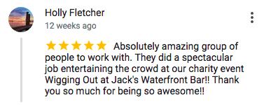 Imagine Circus Google Review Holly Fletcher