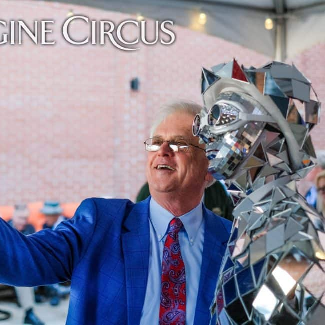 Mirror Man, Living Statue, Classy Art, Imagine Circus, Tain, Photo by the Nixons Photography