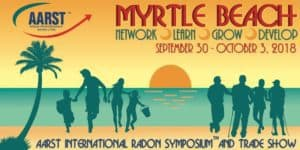 2018 AARST International Radon Symposium™ and Trade Show: Myrtle Beach, SC @ Embassy Suites Kingston Plantation