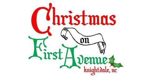 Christmas on First Avenue, Knightdale, NC, Imagine Circus
