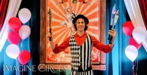 "Imagine Circus Presents ""Time with Tain"" Wake County Library Tour: Zebulon, NC @ Zebulon Community Library"
